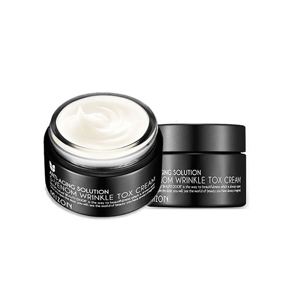 картинка MIZON Крем для лица с экстрактом яда храмовых змей S-Venom Wrinkle Tox Cream 50мл